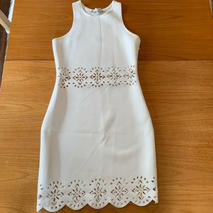 Lovers + Friends White Cutout Dress